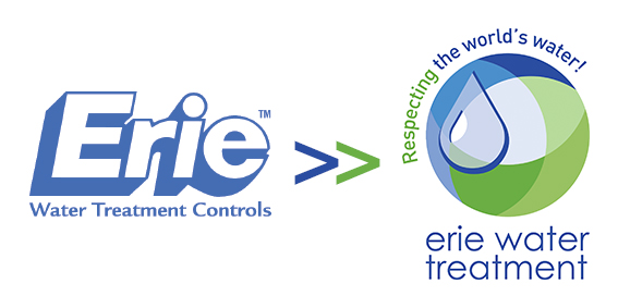 stare i nowe logo Erie water treatment
